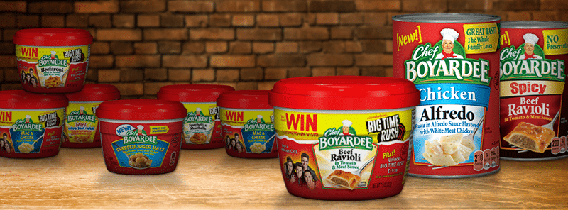 New Product Extension from Chef Boyardee